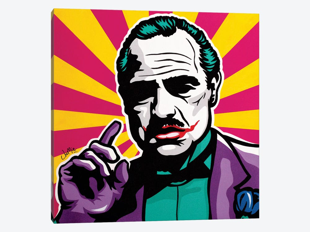 The Jokefather 1-piece Canvas Wall Art