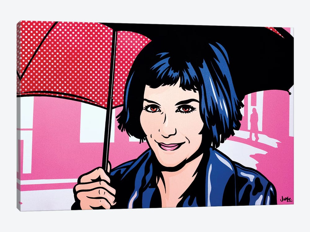 Amelie by James Lee 1-piece Canvas Art Print