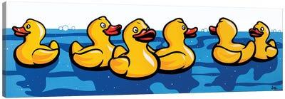 Rubber Duckies Canvas Art Print