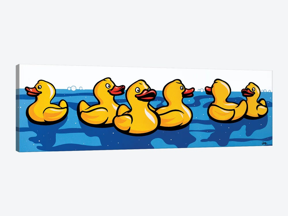 Rubber Duckies by James Lee 1-piece Canvas Print