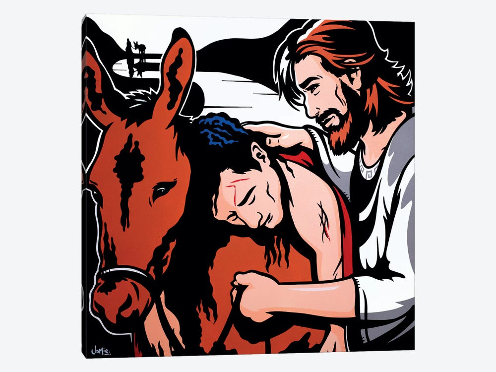 The Good Samaritan by James Lee 1-piece Canvas Artwork