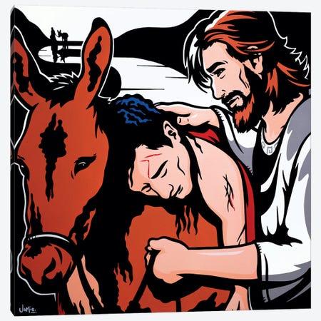The Good Samaritan Canvas Print #JLE60} by James Lee Art Print