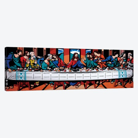 The Last Supper Canvas Print #JLE61} by James Lee Canvas Print