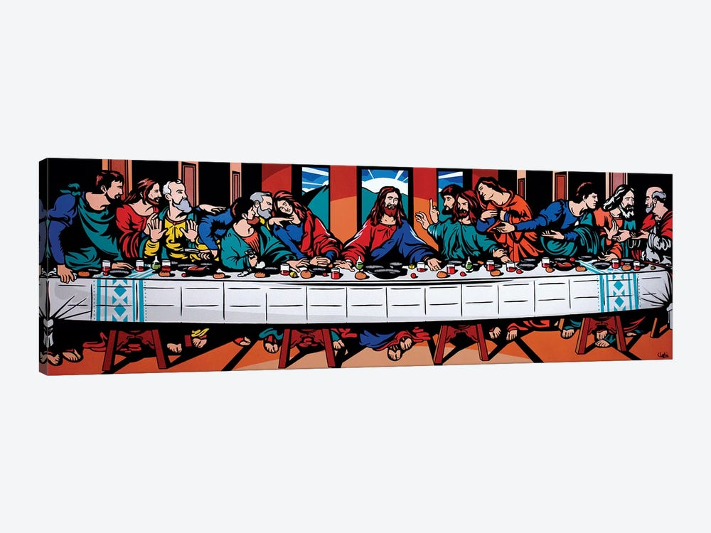 The Last Supper by James Lee 1-piece Canvas Print