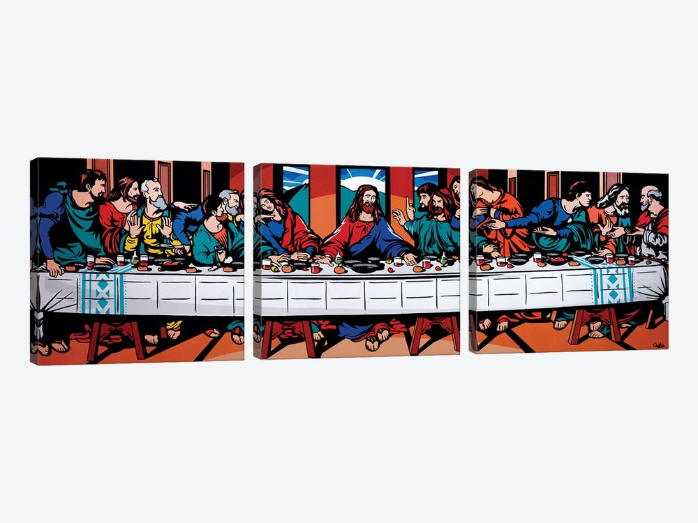 The Last Supper by James Lee 3-piece Canvas Print