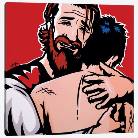 The Prodigal Son Canvas Print #JLE62} by James Lee Canvas Print