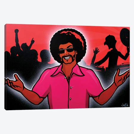 Welcome To The Party Canvas Print #JLE64} by James Lee Canvas Artwork