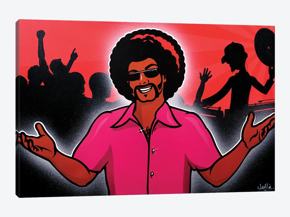 Welcome To The Party by James Lee 1-piece Canvas Wall Art