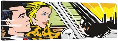Still In The Car II Canvas Art Print