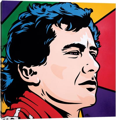 Ayrton Senna Canvas Art Print