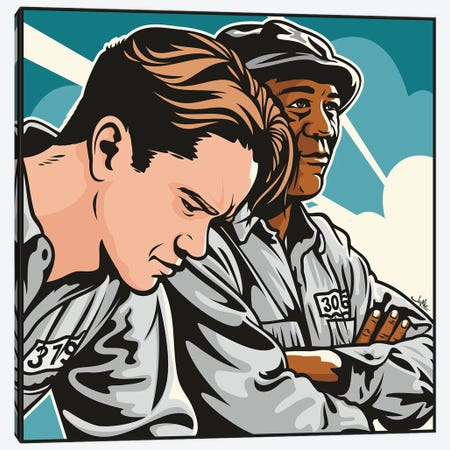 Shawshank Canvas Print #JLE72} by James Lee Canvas Art