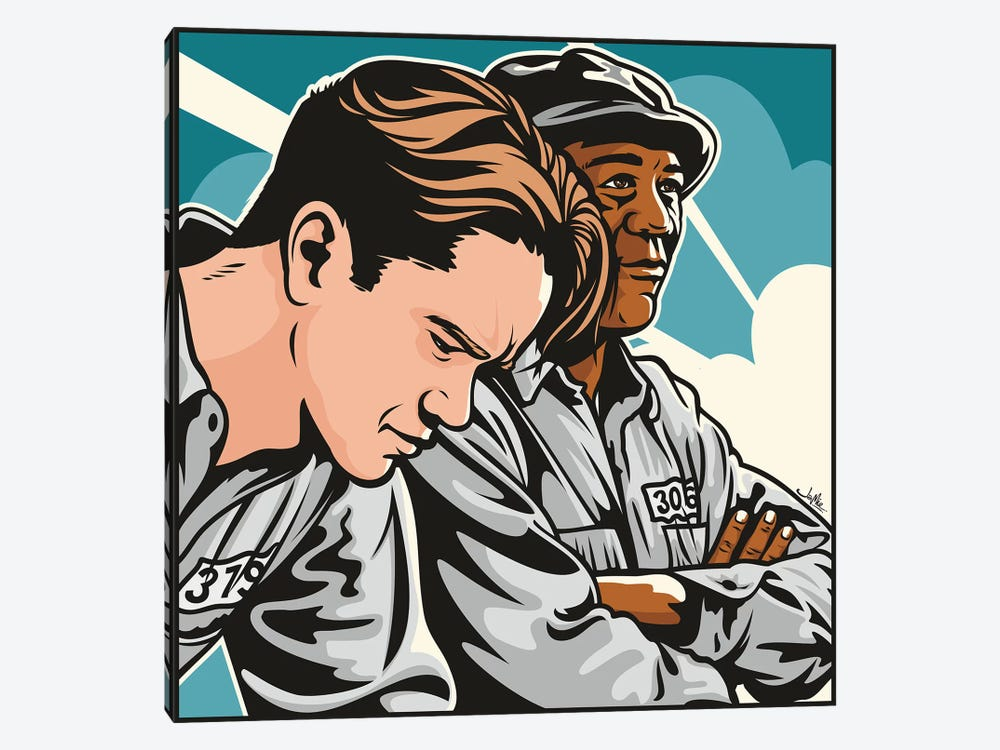 Shawshank by James Lee 1-piece Canvas Print