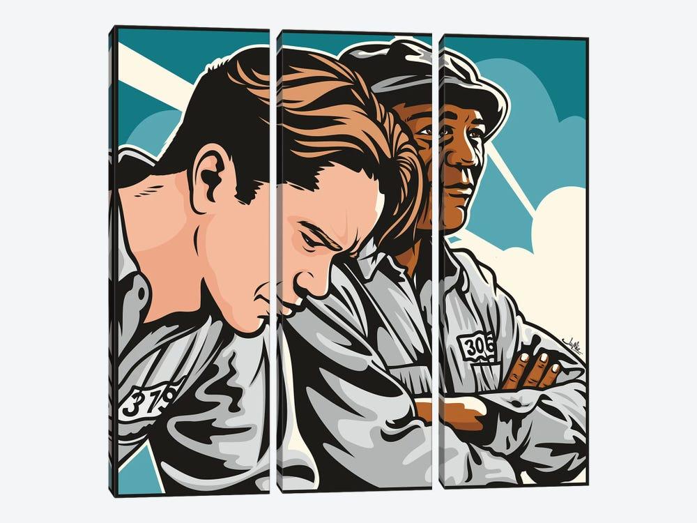 Shawshank by James Lee 3-piece Canvas Print