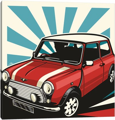 Mini Cooper III Canvas Art Print