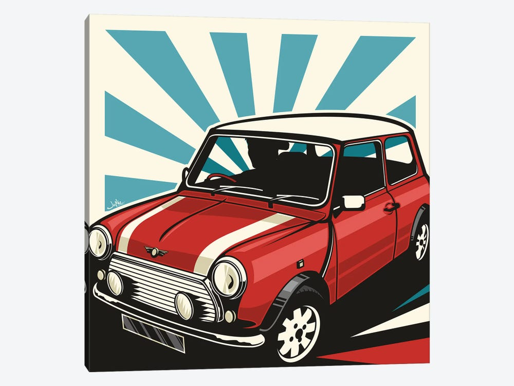 Mini Cooper III by James Lee 1-piece Canvas Artwork