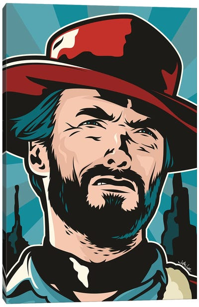 Clint Canvas Art Print