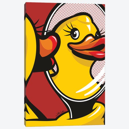Duck Face Canvas Print #JLE78} by James Lee Canvas Art