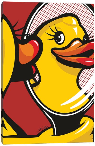 Duck Face Canvas Art Print
