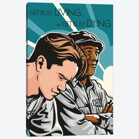 The Shawshank Redemption Canvas Print #JLE84} by James Lee Canvas Artwork