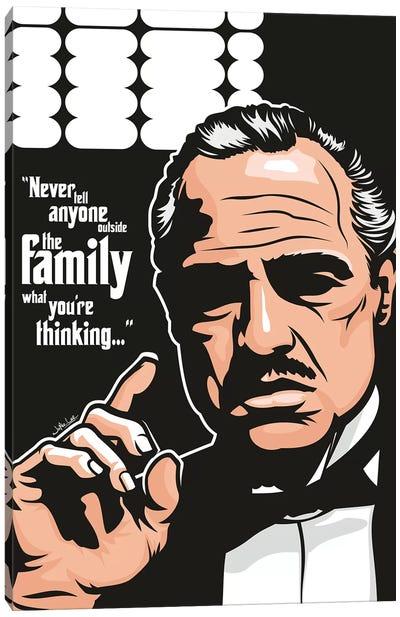 Vito Corleone Canvas Art Print