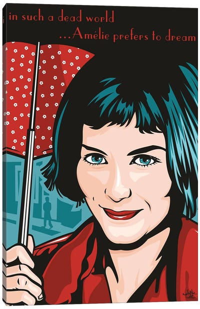 Amelie Poulain Canvas Art Print