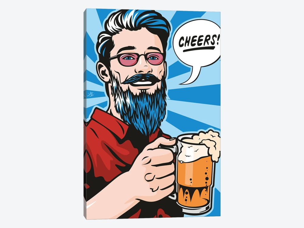 Cheers! by James Lee 1-piece Canvas Art