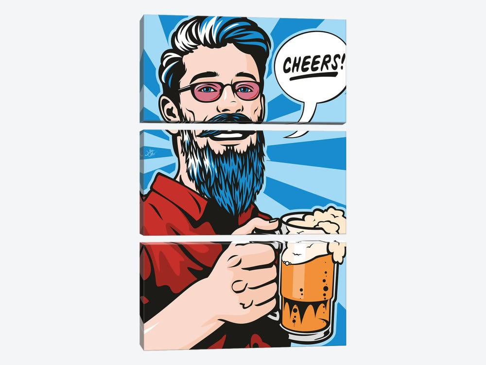 Cheers! by James Lee 3-piece Canvas Art