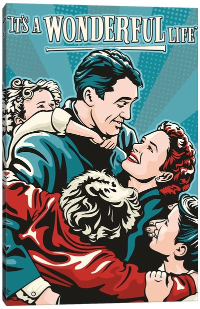 It's A Wonderful Life Canvas Art Print
