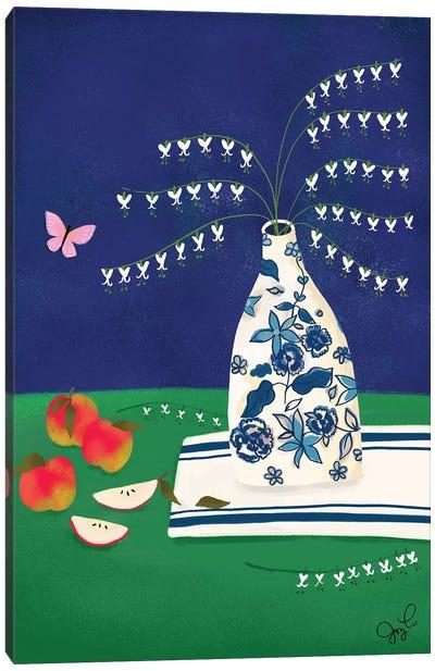 Bleeding Heart Canvas Art Print