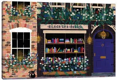 Book Shop Front Canvas Art Print