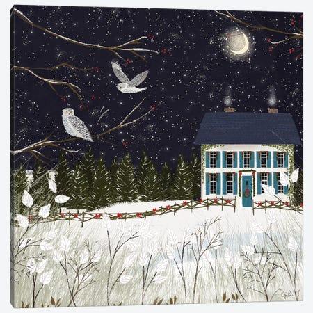 Christmas Colonial Canvas Print #JLF15} by Joy Laforme Canvas Art