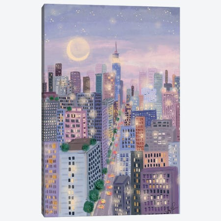Cityscape I Canvas Print #JLF16} by Joy Laforme Canvas Artwork