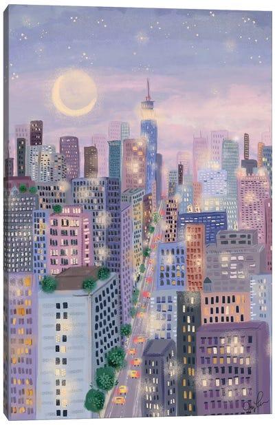 Cityscape I Canvas Art Print