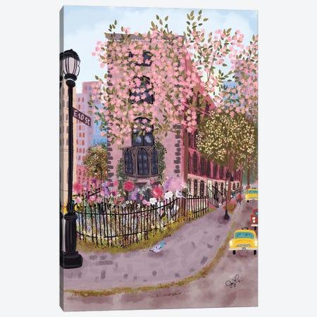 East Village Canvas Print #JLF20} by Joy Laforme Canvas Art