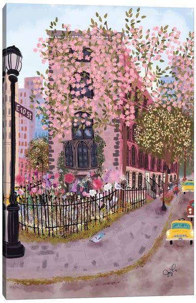 East Village Canvas Art Print