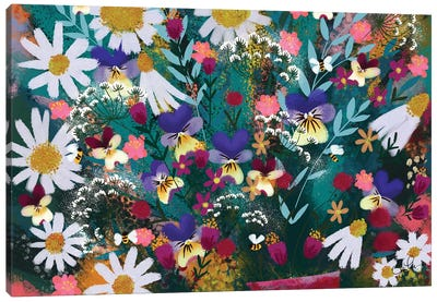 Floral Explosion Canvas Art Print