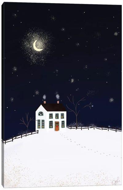 Folk Art Fusion II Canvas Art Print