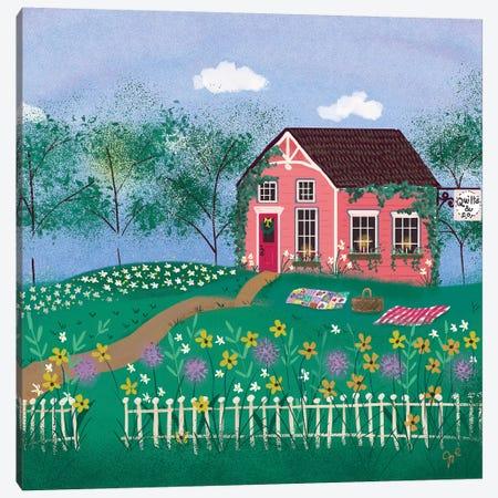 Folk Art Fusion III Canvas Print #JLF24} by Joy Laforme Canvas Art Print