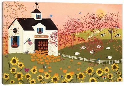 Folk Art Fusion IV Canvas Art Print