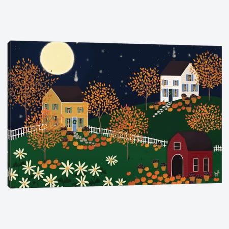 Folk Art Fusion VI Canvas Print #JLF27} by Joy Laforme Art Print
