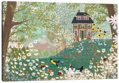 Garden Dream Canvas Art Print