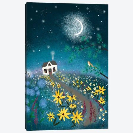 Nightingale Canvas Print #JLF29} by Joy Laforme Canvas Wall Art