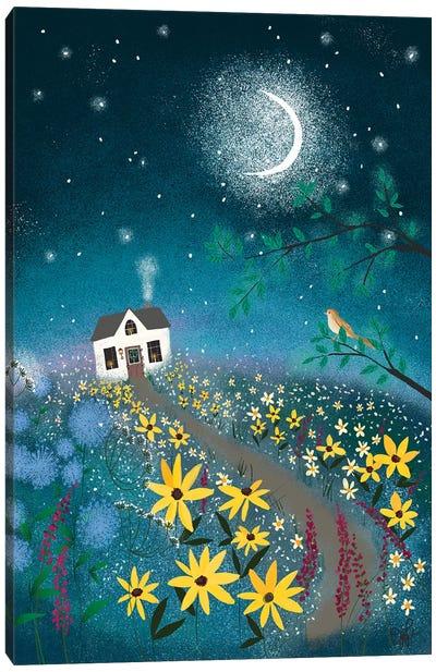 Nightingale Canvas Art Print