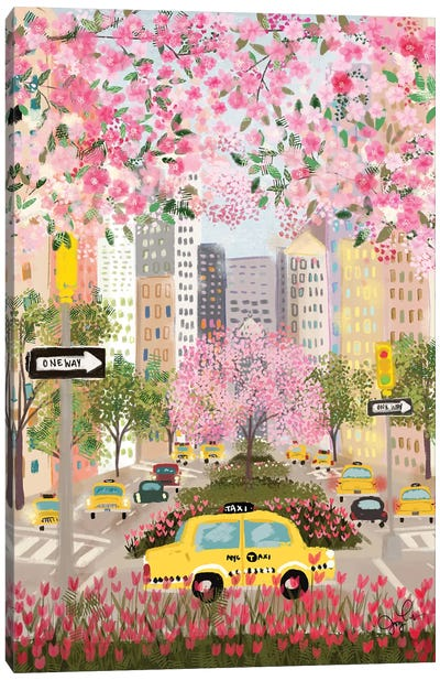 Park Avenue Canvas Art Print