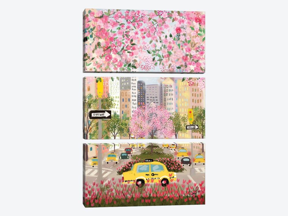 Park Avenue by Joy Laforme 3-piece Art Print