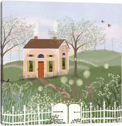 Path To Spring Canvas Art Print