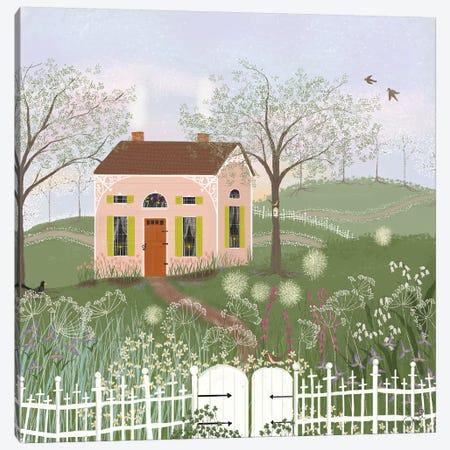 Path To Spring Canvas Print #JLF31} by Joy Laforme Canvas Print