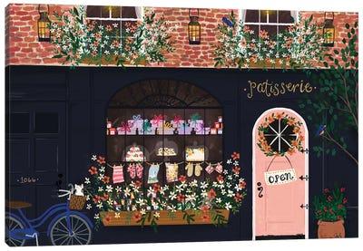 Patisserie Shopfront Canvas Art Print