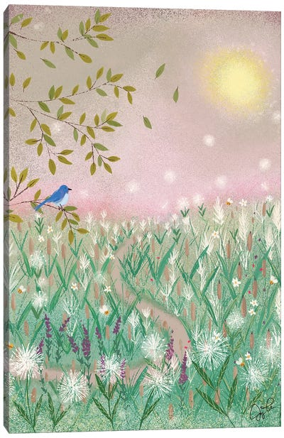 Pink Day Dream Canvas Art Print
