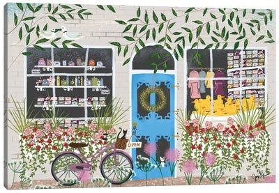 SoapShop Storefront Canvas Art Print